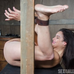 Eden Sin in 'Insex' is ravaged, throated, made to squirt, made to sceam, mad to cum over and over, while bound! (Thumbnail 3)