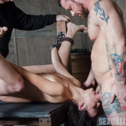 Eden Sin in 'Insex' is ravaged, throated, made to squirt, made to sceam, mad to cum over and over, while bound! (Thumbnail 5)
