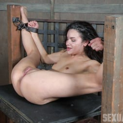 Eden Sin in 'Insex' is ravaged, throated, made to squirt, made to sceam, mad to cum over and over, while bound! (Thumbnail 11)