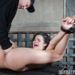 Eden Sin in 'Insex' is ravaged, throated, made to squirt, made to sceam, mad to cum over and over, while bound! (Thumbnail 15)