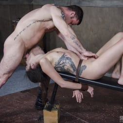 Eden Sin in 'Insex' Edsen Sin BaRS part 3: Tiny little slut is belted down and brutally fucked to several orgasms! (Thumbnail 6)