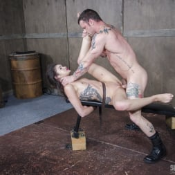 Eden Sin in 'Insex' Edsen Sin BaRS part 3: Tiny little slut is belted down and brutally fucked to several orgasms! (Thumbnail 15)