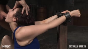 Endza Adair in 'Wholesome starlet Endza Adair bound and used without mercy in metal bondage, BBC pounding!'