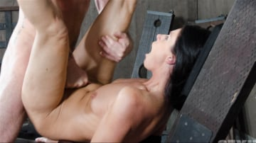 India Summer - Super MILF India Summer get's broken with brutal throat fucking and pussy pounding! Wrecked!