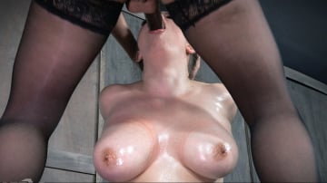 Iona Grace - Naturally Busty Iona Grace Expertly Swallows Cock While Cumming on Sybian!