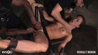 Kalina Ryu in 'Legendary Kalina Ryu bound and used hard in classic fuck me position with facefucking and vibrators!'