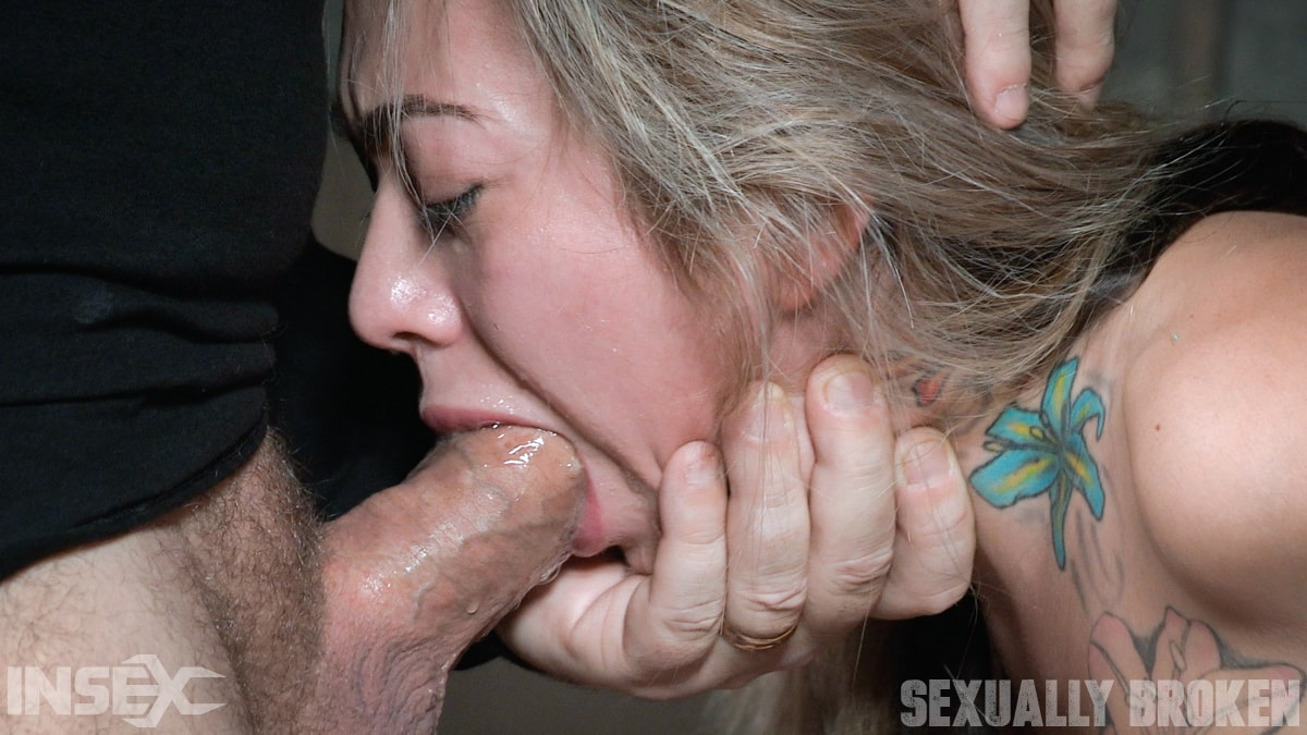 Insex 'is handcuffed to a chair, face fucked, and vibrated to several screaming orgasms!' starring Kat Dior (Photo 1)