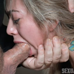 Kat Dior in 'Insex' is handcuffed to a chair, face fucked, and vibrated to several screaming orgasms! (Thumbnail 1)