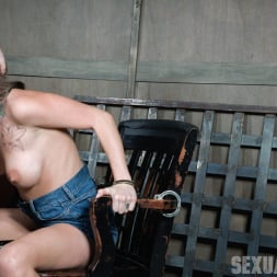 Kat Dior in 'Insex' is handcuffed to a chair, face fucked, and vibrated to several screaming orgasms! (Thumbnail 14)