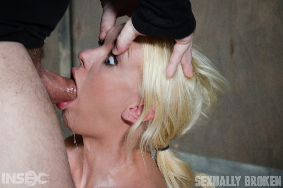 Insex 'Gorgeous Blond Kenzie Taylor gets facesat and throat fucked!' starring Kenzie Taylor (Photo 5)