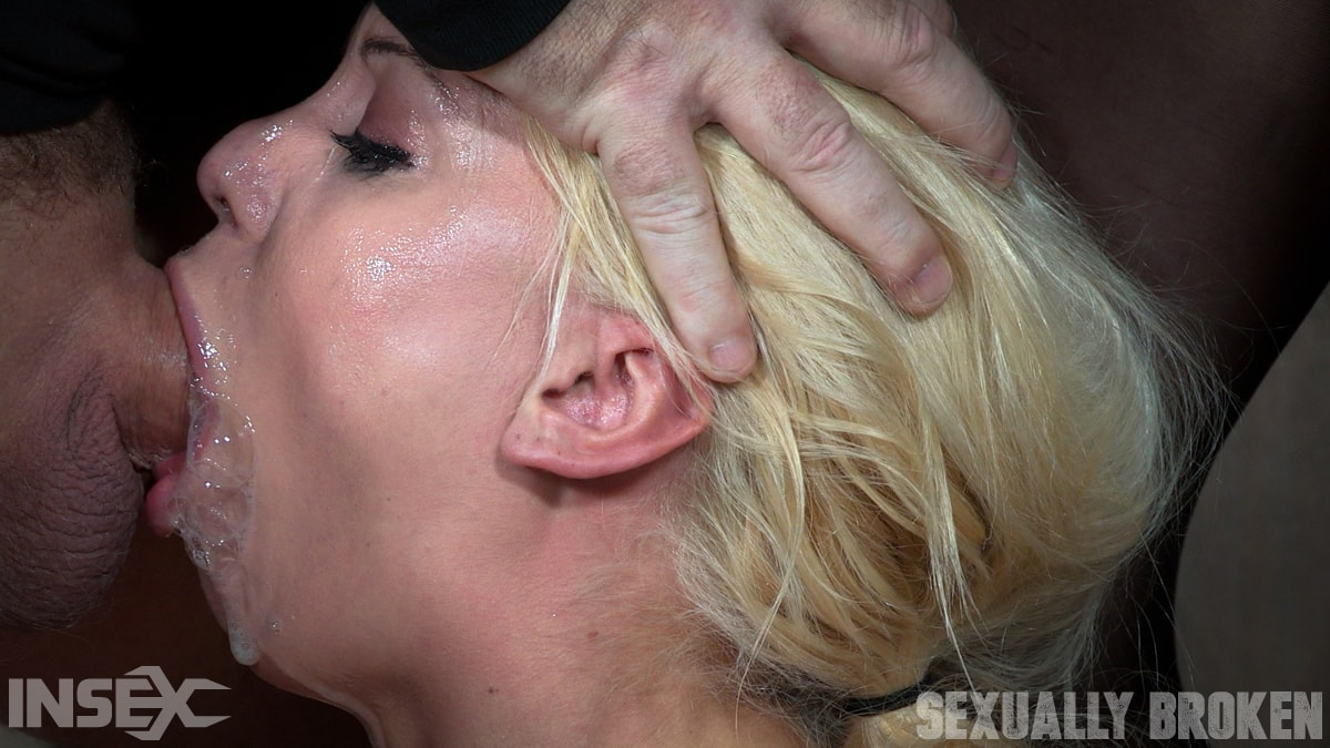 Insex 'Gorgeous Blond Kenzie Taylor gets facesat and throat fucked!' starring Kenzie Taylor (Photo 13)