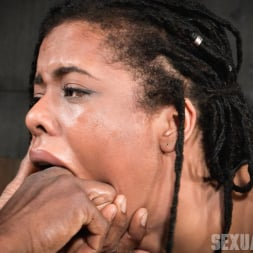 Kira Noir in 'Insex' Adorable Kira Noir shackled down in belt bondage and taken roughly from both ends by big dick! (Thumbnail 9)
