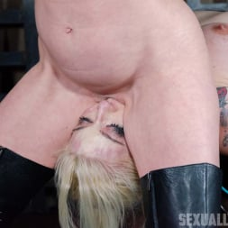 Leya Falcon in 'Insex' Leya Falcon, hot blonds with Huge tits, bound down and double fucked throated. Pussy smothered! (Thumbnail 9)