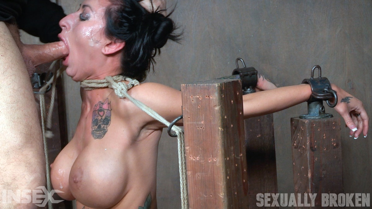 Insex 'Lily lane is destroyed by a brutal face fucking, while being made to cum over and over!' starring Lily Lane (Photo 12)
