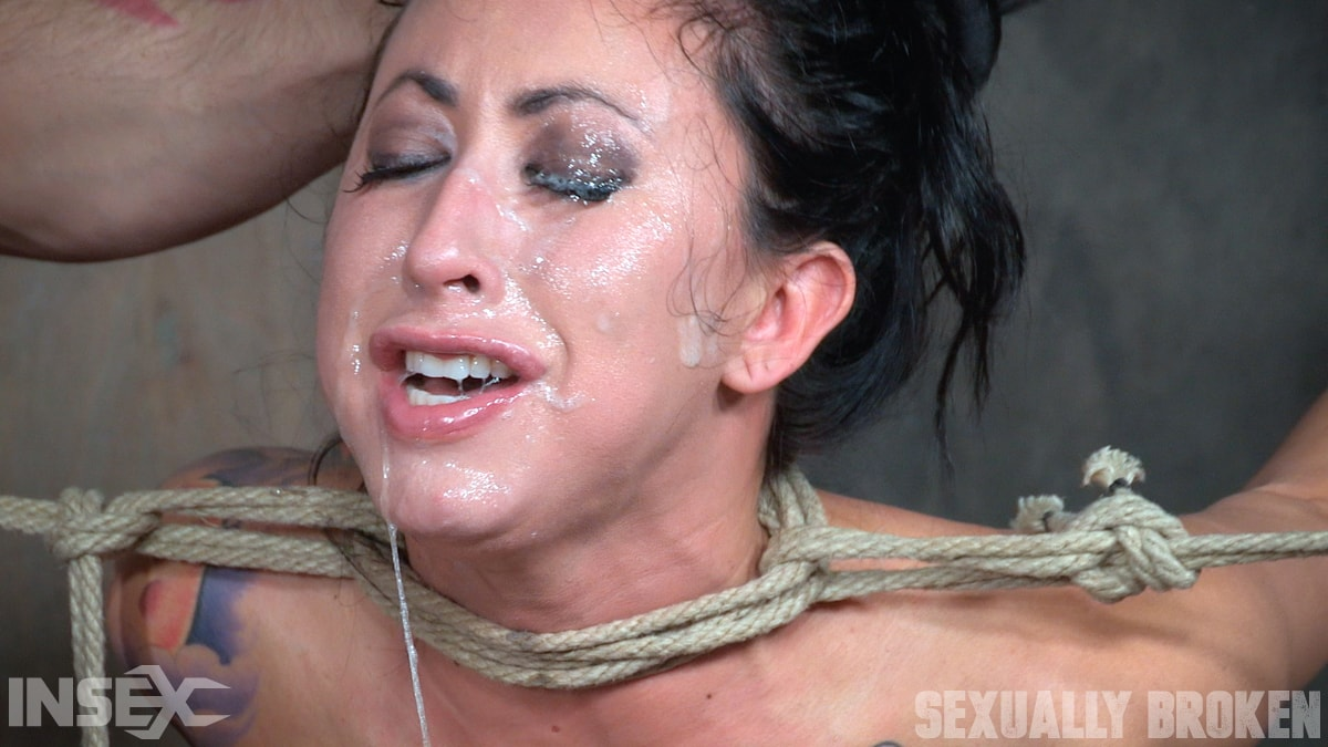 Insex 'Lily lane is destroyed by a brutal face fucking, while being made to cum over and over!' starring Lily Lane (Photo 14)