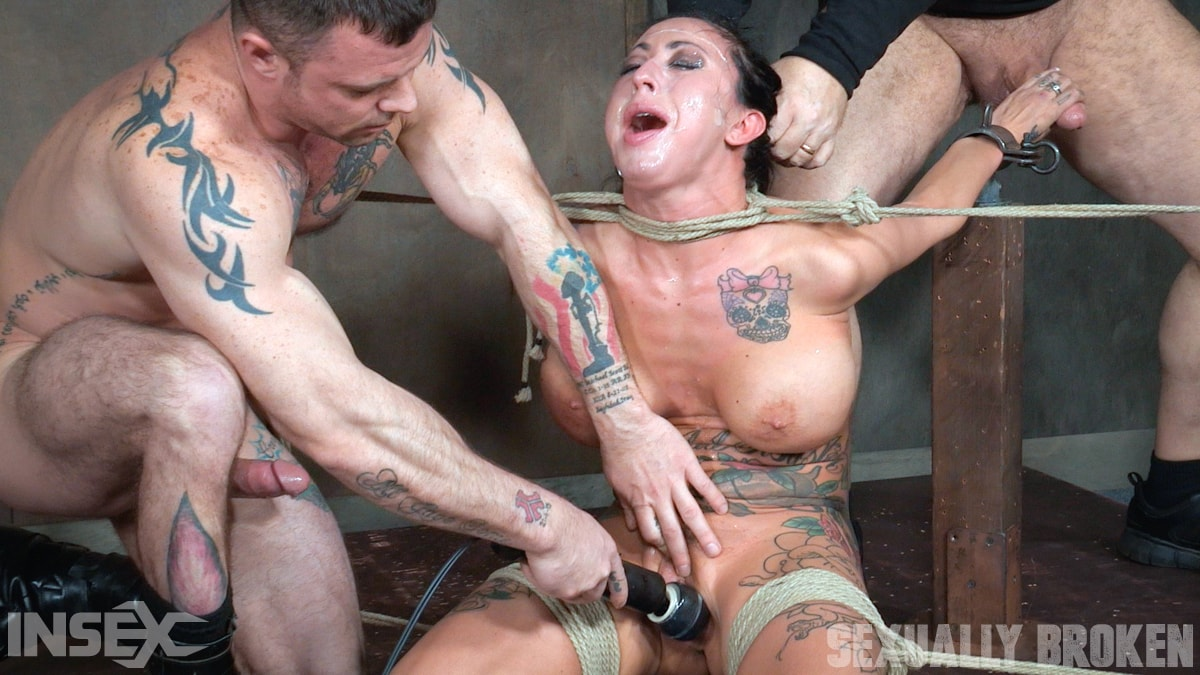 Insex 'Lily lane is destroyed by a brutal face fucking, while being made to cum over and over!' starring Lily Lane (Photo 15)