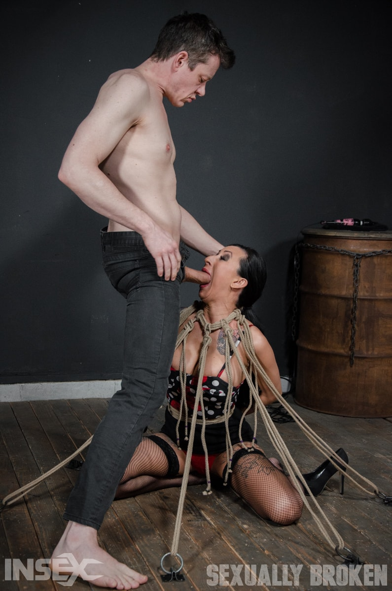 Insex 'Roped N' Rammed' starring Lily Lane (photo 1)