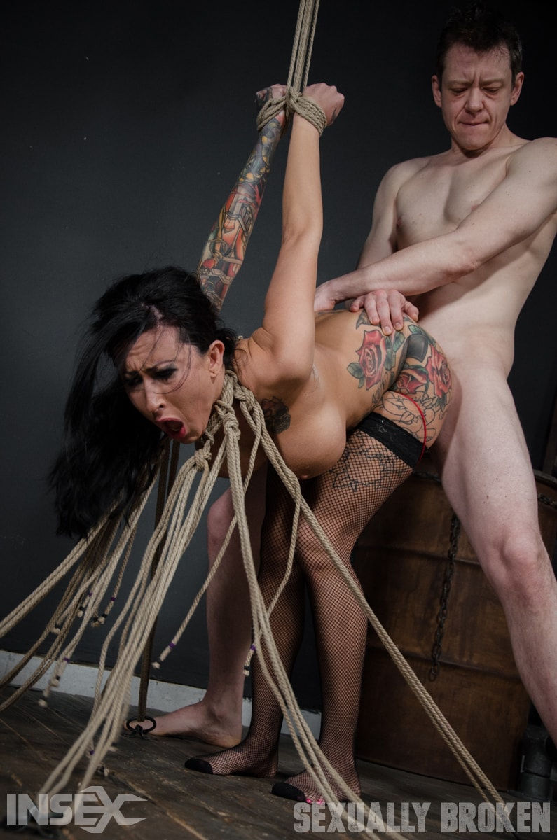 Insex 'Roped N' Rammed' starring Lily Lane (photo 4)