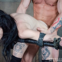 Lydia Black in 'Insex' is a tiny spinner with a velvet throat and tiny pussy. Huge cock destruction incoming! (Thumbnail 1)
