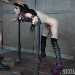 Lydia Black in 'Insex' is a tiny spinner with a velvet throat and tiny pussy. Huge cock destruction incoming! (Thumbnail 2)