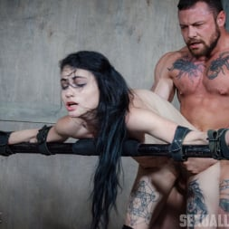 Lydia Black in 'Insex' is a tiny spinner with a velvet throat and tiny pussy. Huge cock destruction incoming! (Thumbnail 11)