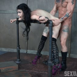 Lydia Black in 'Insex' is a tiny spinner with a velvet throat and tiny pussy. Huge cock destruction incoming! (Thumbnail 15)