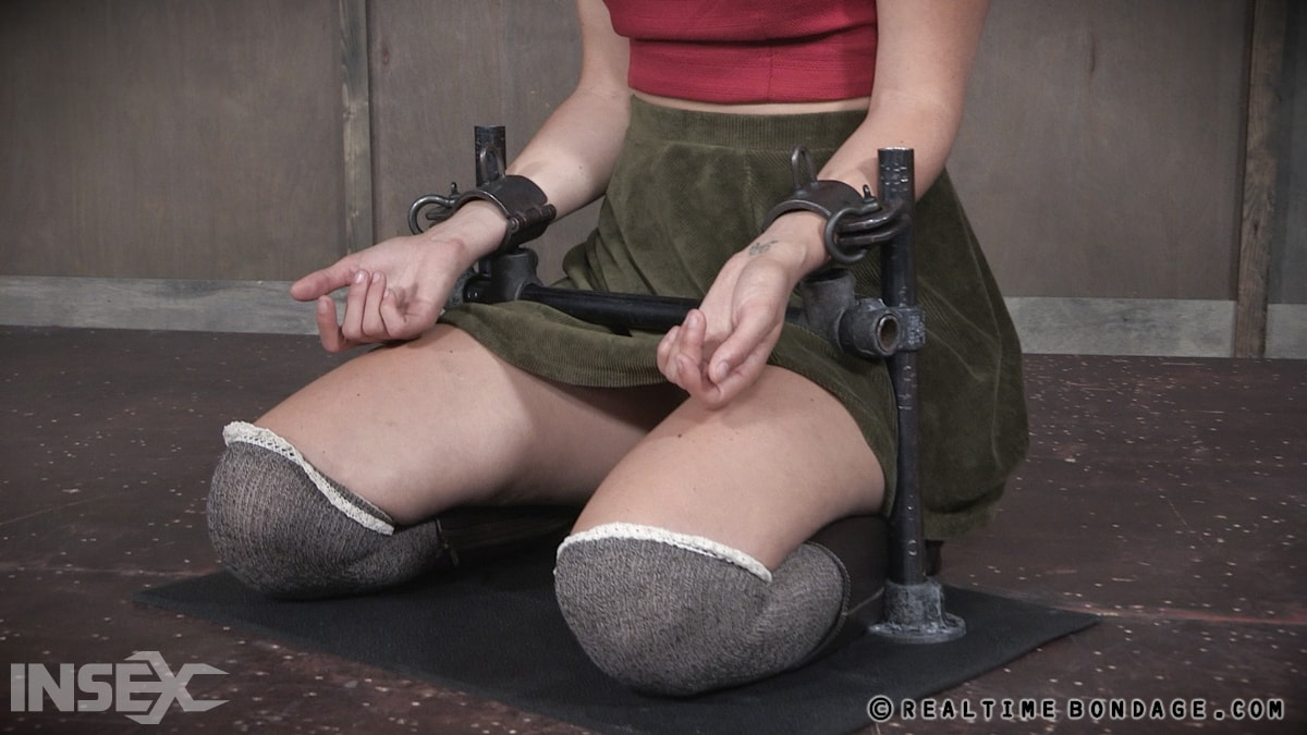 Insex 'BaRS Part 1: The warm up, bound down in hard metal and face fucked into subspace!' starring Mona Wales (Photo 3)