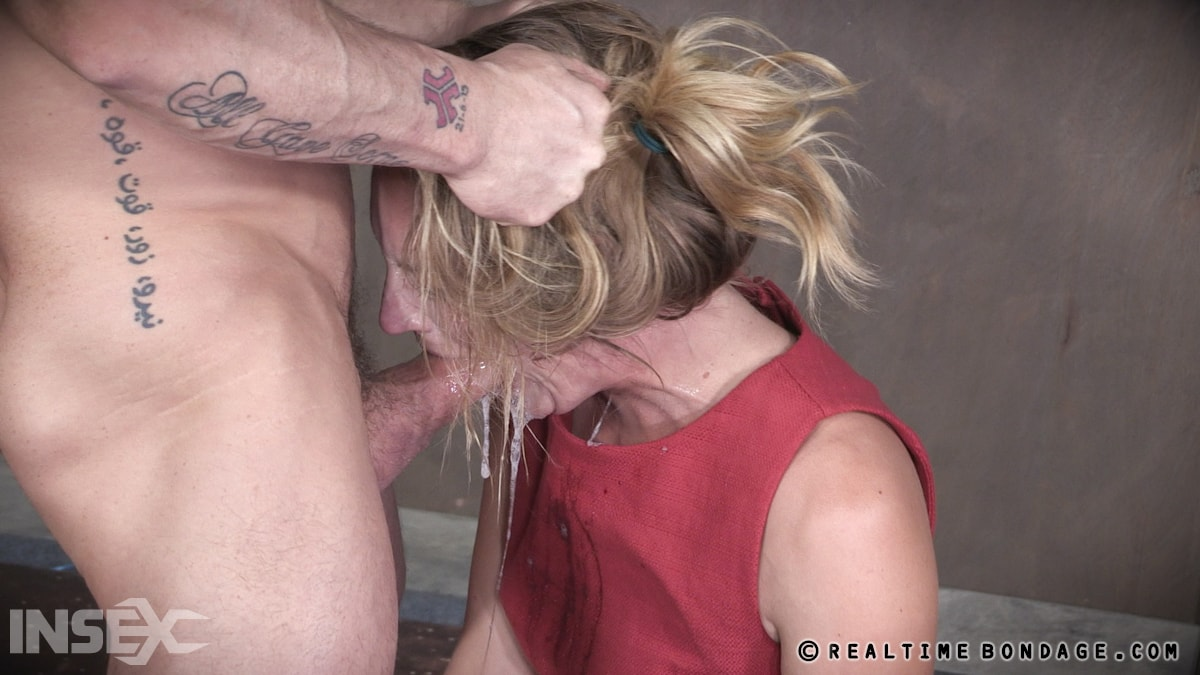 Insex 'BaRS Part 1: The warm up, bound down in hard metal and face fucked into subspace!' starring Mona Wales (Photo 13)