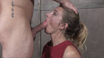 Mona Wales - Mona Wales BaRS Part 1: The warm up, bound down in hard metal and face fucked into subspace!