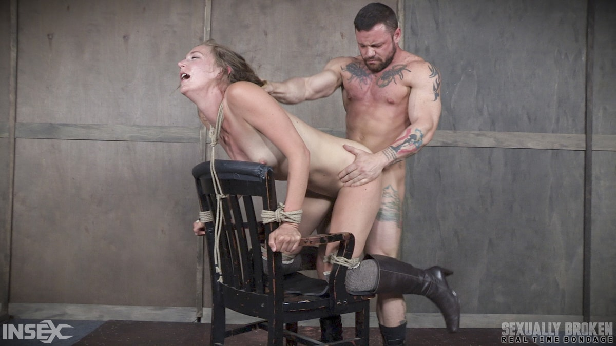 Insex 'BaRS Part 2: Chair bound and brutally double fucked, Squirting screaming deepthroat!' starring Mona Wales (Photo 1)