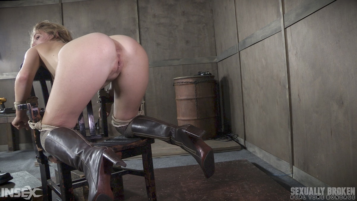 Insex 'BaRS Part 2: Chair bound and brutally double fucked, Squirting screaming deepthroat!' starring Mona Wales (Photo 2)