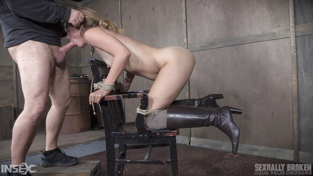 Insex 'BaRS Part 2: Chair bound and brutally double fucked, Squirting screaming deepthroat!' starring Mona Wales (Photo 8)