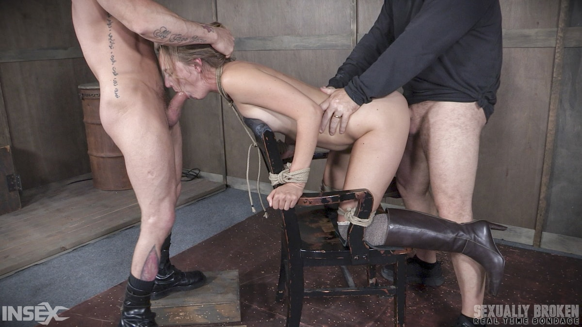 Insex 'BaRS Part 2: Chair bound and brutally double fucked, Squirting screaming deepthroat!' starring Mona Wales (Photo 10)