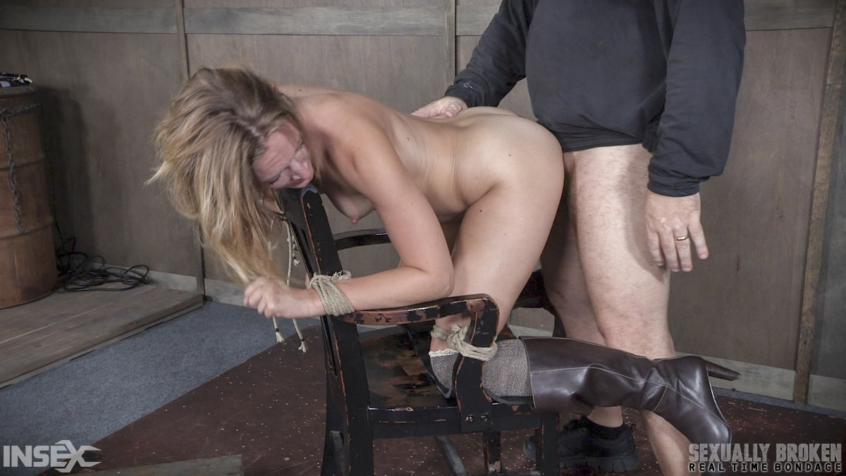 Insex 'BaRS Part 2: Chair bound and brutally double fucked, Squirting screaming deepthroat!' starring Mona Wales (Photo 14)