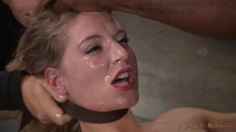 Mona Wales in 'Sexy Mona Wales shackled in classic fuck me position and fucked into squirting orgasms by BBC!'