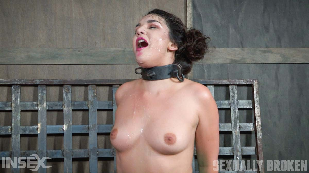 Insex 'is bound in hard metal, stuck on a vibrator, and brutally face fucked, stupid.' starring Paisley Parker (Photo 11)