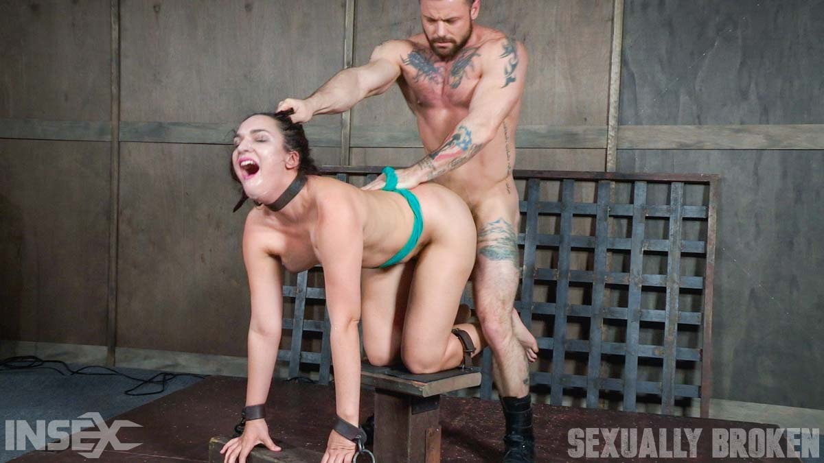 Insex 'is destroyed by cock from both ends while completely helpless and cumming!' starring Paisley Parker (Photo 13)