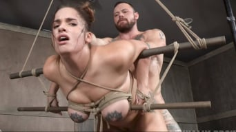Scarlet De Sade in 'Greedy cock slut Scarlet De Sade is rough fucked with her incredible tits bound LIVE!'