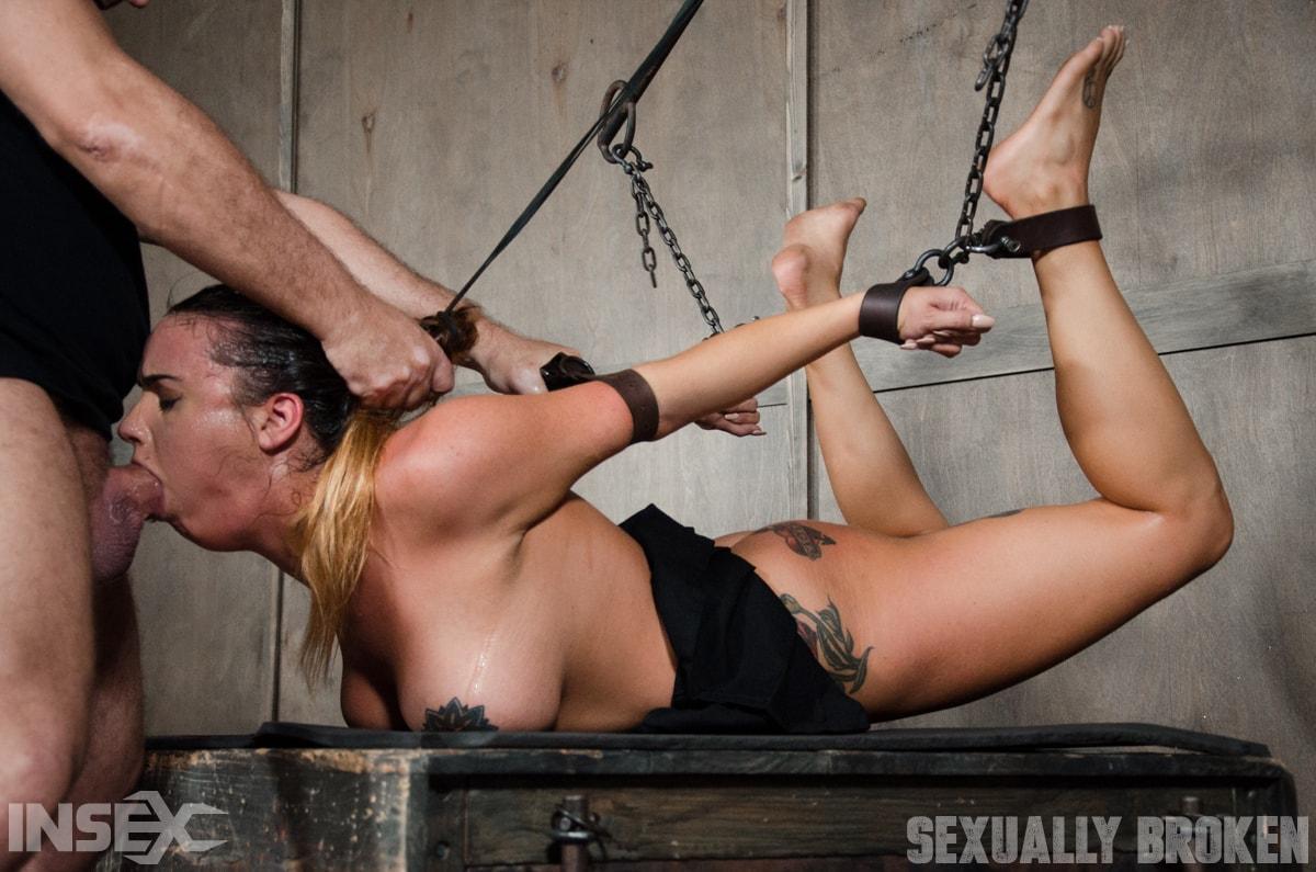 Hard rough bdsm xxx bondage pussy spanking