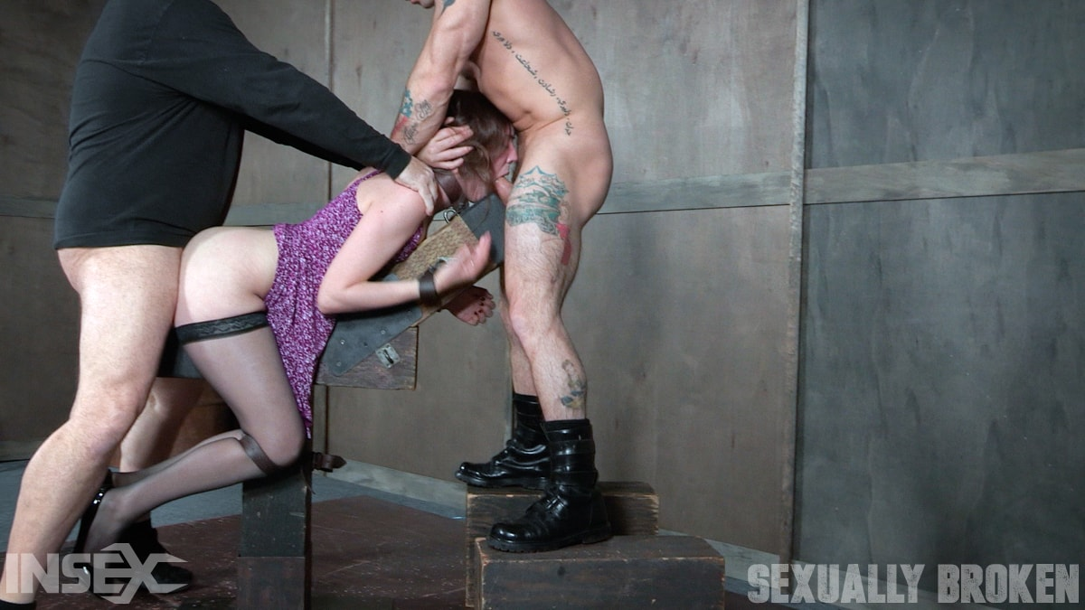 Insex 'our sexy girl next door is is double fucked into oblivian, massive screaming orgasms!' starring Sierra Cirque (Photo 9)