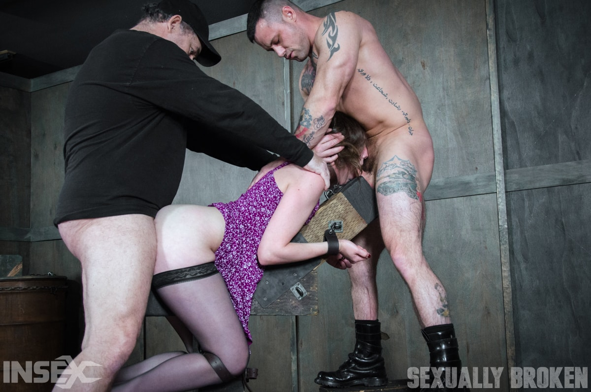 Insex 'our sexy girl next door is is double fucked into oblivian, massive screaming orgasms!' starring Sierra Cirque (Photo 12)