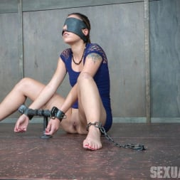 Sophia Grace in 'Insex' is bound, blindfolded, vibrated, to brutal orgasms while being facefucked to subspace (Thumbnail 4)