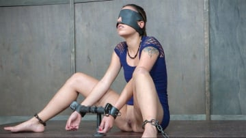 Sophia Grace - Sophia Grace is bound, blindfolded, vibrated, to brutal orgasms while being facefucked to subspace