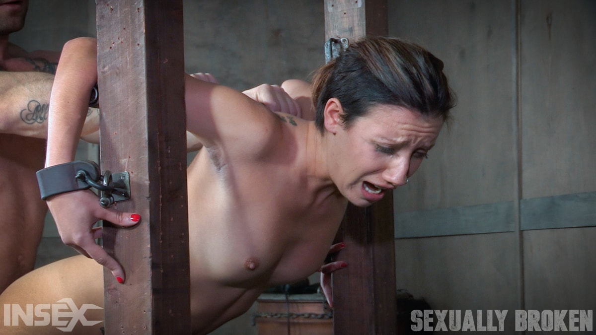 Insex 'is brutally bound, face fucked, controlled, and fucked to several intense orgasms!' starring Sophia Grace (Photo 6)