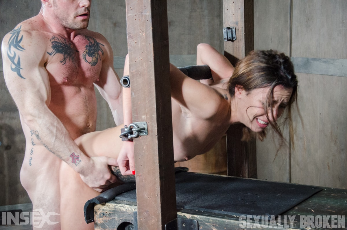 Insex 'is brutally bound, face fucked, controlled, and fucked to several intense orgasms!' starring Sophia Grace (Photo 12)