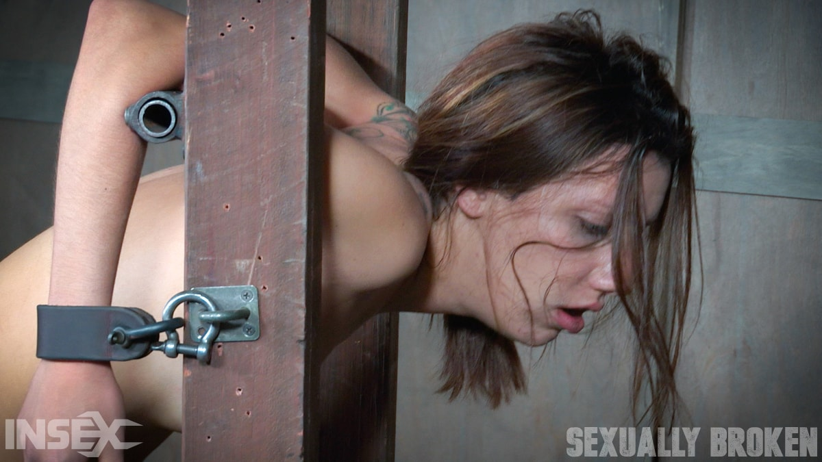 Insex 'is brutally bound, face fucked, controlled, and fucked to several intense orgasms!' starring Sophia Grace (Photo 15)