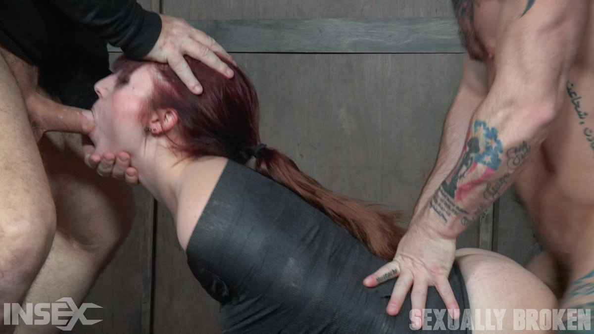 Insex 'slips into Sub Space pretty fast and takes a brutal face and pussy pounding!' starring Stephie Staar (Photo 5)