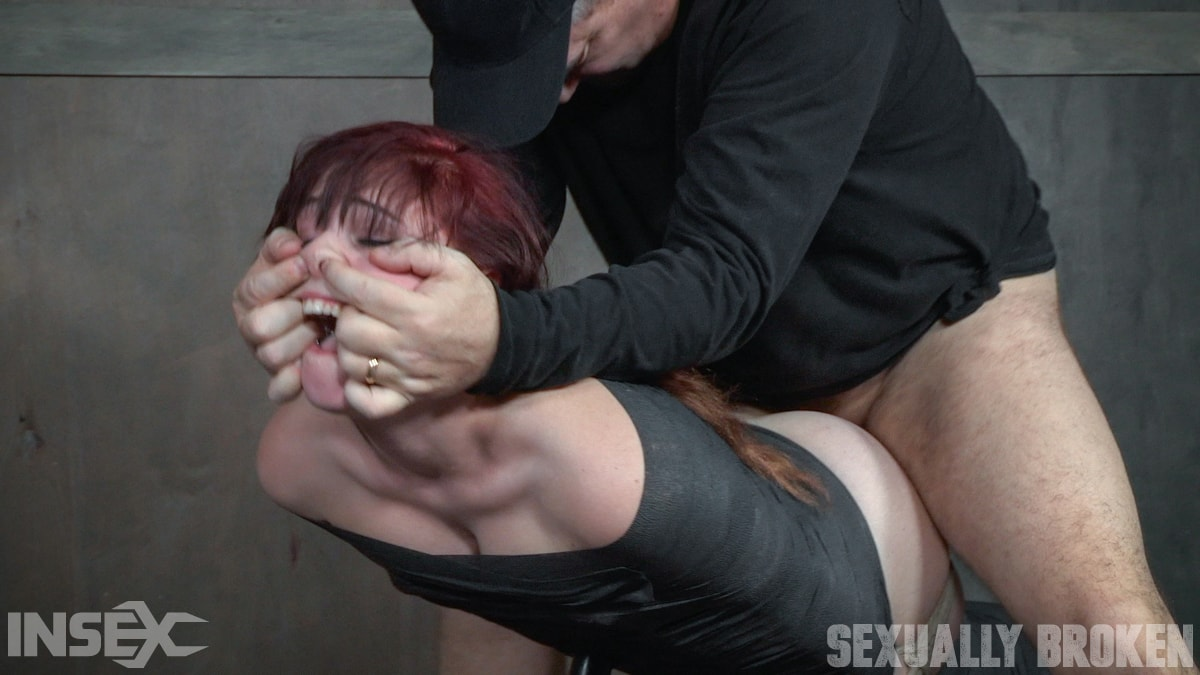 Insex 'slips into Sub Space pretty fast and takes a brutal face and pussy pounding!' starring Stephie Staar (Photo 7)