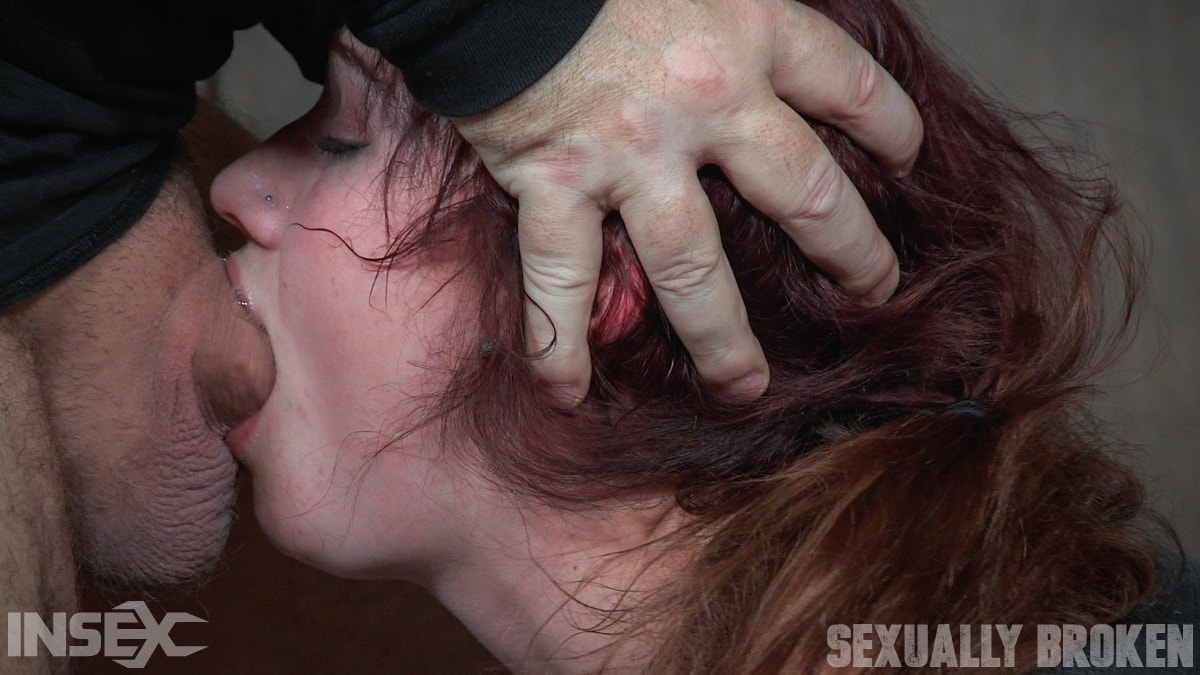Insex 'slips into Sub Space pretty fast and takes a brutal face and pussy pounding!' starring Stephie Staar (Photo 13)