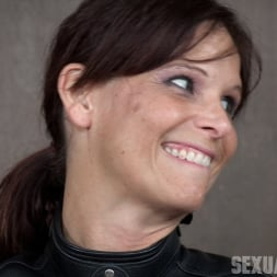 Syren De Mer in 'Insex' helpless in a straight jacket, manhandled back and forth, throated and roughly fucked! (Thumbnail 2)